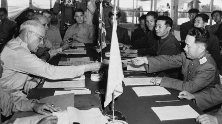 South Korea didn't have to sign thearmistice
